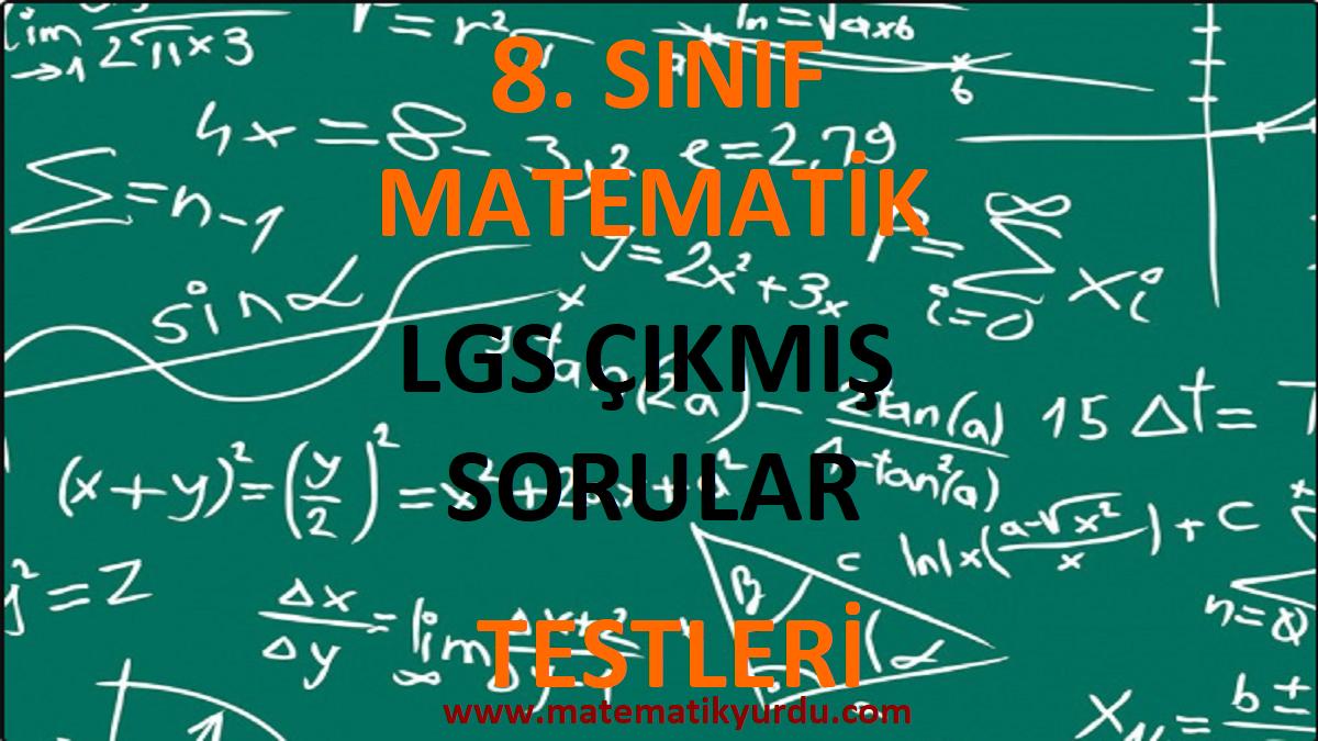 LGS Çıkmış Sorular