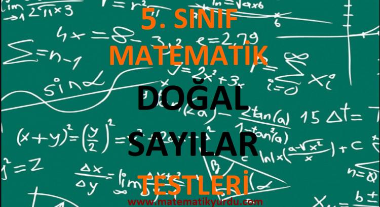 5. Sınıf Doğal Sayılar Testi