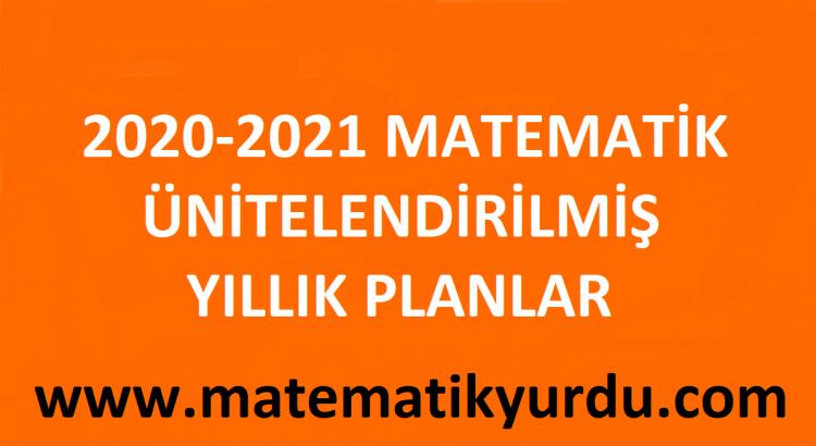 Matematik Yıllık Planlar