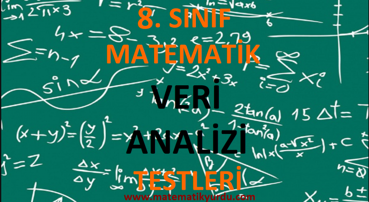 8. Sınıf Veri Analizi Testi