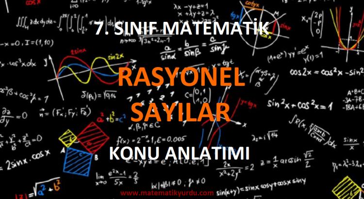 7. Sınıf Rasyonel Sayılar Konu Anlatımı