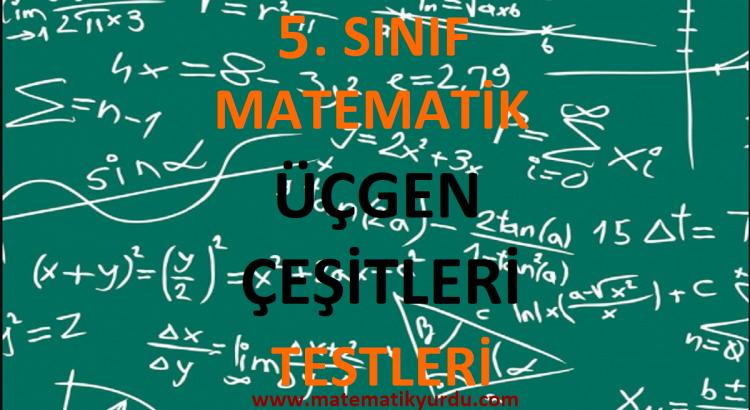 5. Sınıf Üçgen Çeşitleri Testi