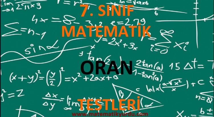 7. Sınıf Oran Testi
