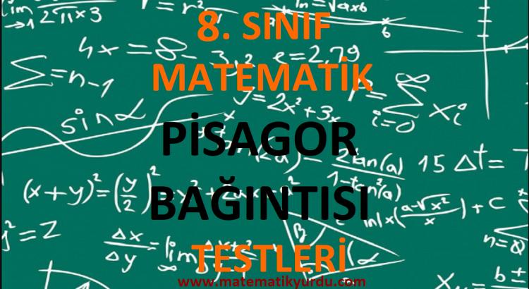 8. Sınıf Pisagor Bağıntısı Testi