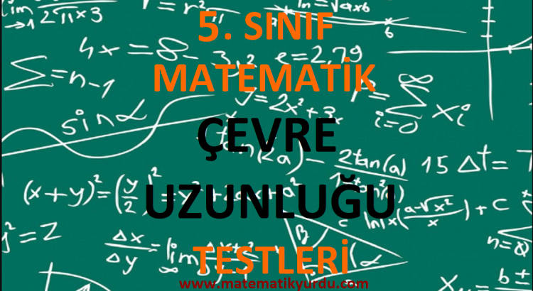 5. Sınıf Çevre Uzunluğu Testi